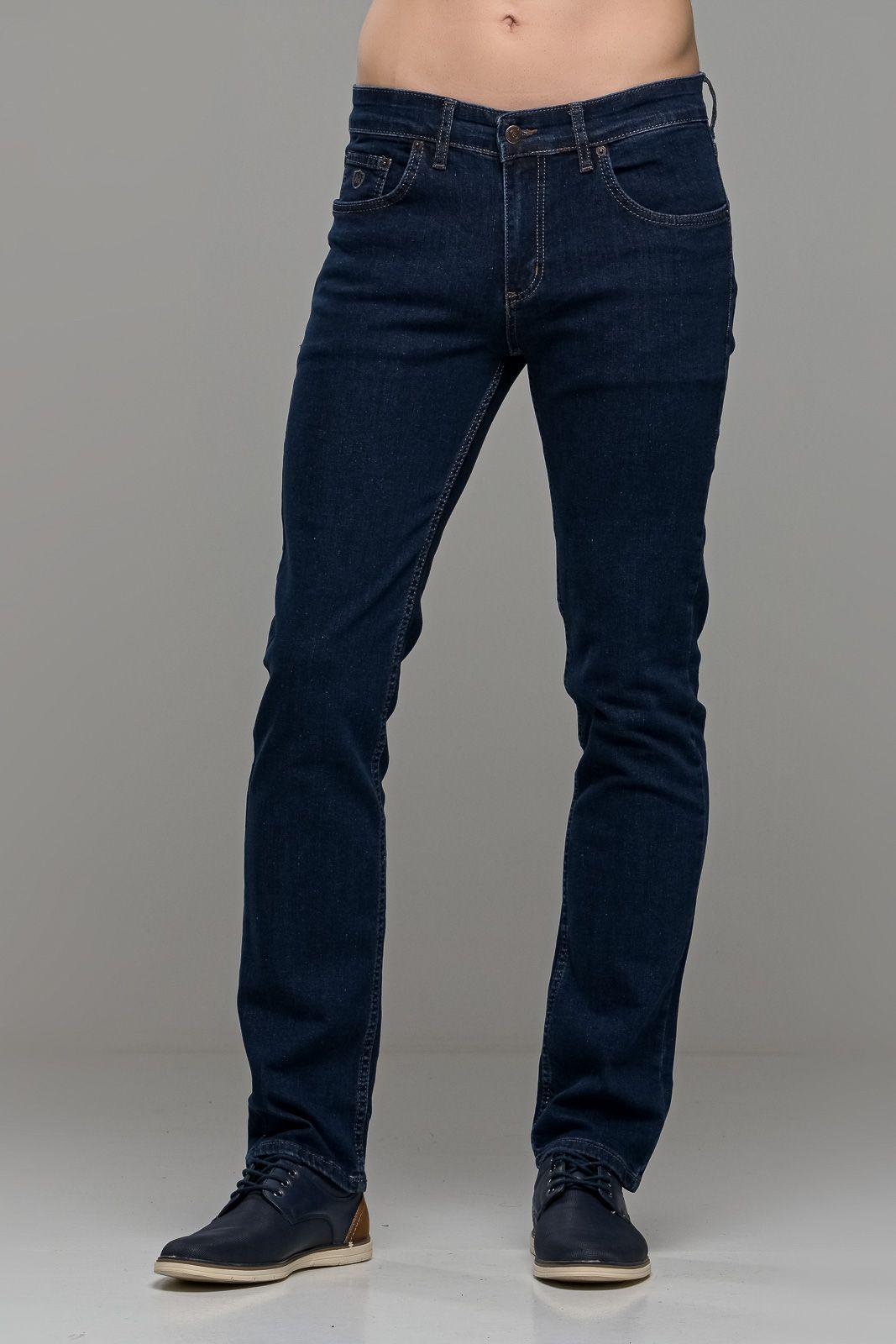 Ανδρικό τζιν παντελόνι σε ίσια γραμμή straight fit με ελαστικό stretch για κάθε μέρα